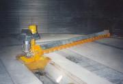 Vis d'extraction tournante déchargement de céréales - Déchargement de grains dans un silo de stockage