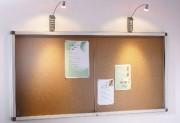 Vitrine affichage intérieur - Capacités feuilles A4 - cadre aluminium
