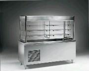 Vitrine avec plan réfrigéré pour self - 3 niveaux - 1.47 kW