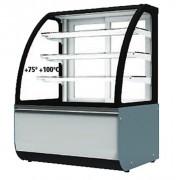 Vitrine chaude à 3 étagères - Vitrine chaude - + 75° + 100°C - 2140 W