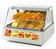 Vitrine chauffante pour pâtisseries - Maintien homogène à température (régulation de 20 à 91 °C.)