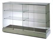 Vitrine comptoir - 150 x 46,5 x 95H cm