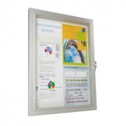 Vitrine d'affichage extérieur classique - Format : A4 - Fabrication française