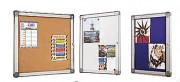 Vitrine d'affichage extra plate - Dimensions (H x L) cm : De 39 x 30 à 98 x 72