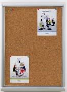 Vitrine d'affichage intérieur à porte ouvrante - Livré monté
