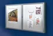 Vitrine d'affichage intérieur sur mesure - Différents modèles et couleurs
