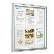 Vitrine d'affichage pour extérieur - Modèles : De 2 x A4 à 9 x A4