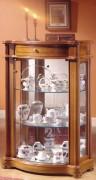 Vitrine d'exposition armoire en bois - Dimensions ( H x L x P) : 97 x 65 x 35 cm