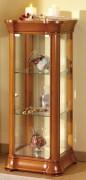 Vitrine d'exposition basse en bois - Dimensions ( H x L x P) : 105 x 43 x 43cm