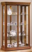 Vitrine d'exposition en bois hauteur 150 cm - Dimensions : ( H x L x P) : 150 x 100 x 35cm