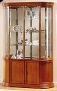 Vitrine d'exposition en bois hauteur 195 cm - Dimensions : ( H x L x P ) : 195 x 120 x 38cm