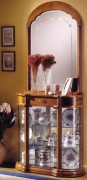 Vitrine d'exposition en bois hauteur 208 cm - Dimensions : ( H x L x P) : 208 x 90 x 35 cm