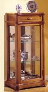 Vitrine d'exposition en bois largeur 47 cm - Dimensions (H x L x P) : 100 x 47 x 31cm