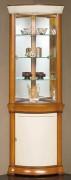 Vitrine d'exposition en bois largeur 70 cm