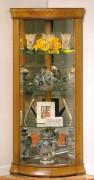 Vitrine d'exposition en bois pour couloir - Dimensions : ( H x L x P) : 150 x 70 x 50cm