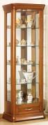 Vitrine d'exposition meuble en bois - Dimensions ( H x L x P) 189 x 64 x 37 cm