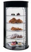 Vitrine d'exposition pour pâtisseries - Dimensions (mm) : 435 x 435 x 970