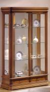 Vitrine d'exposition tiroirs en bois