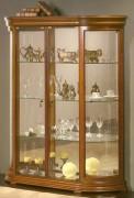 Vitrine d'exposition verre en bois - Dimensions ( H x L x P) : 150 x 120 x 38 cm