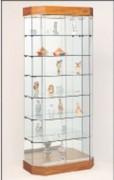 Vitrine d'expositions avec portes coulissantes - GERALDINE