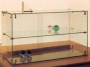 Vitrine de comptoir en verre - Dimensions: LV 39/60 : 60 x 30 x 45H cm