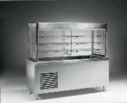 Vitrine de self service et plan réfrigéré - 3 niveaux - 1.00 kW