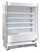 Vitrine frigorifique inox - Ventilée - Température : +3°C à +5°C
