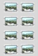 Vitrine Led - 8 porte-affiches Led A4 Paysage