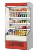 Vitrine libre service réfrigérée - Plage de température : +2°C à +5°C