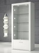 Vitrine meuble en verre