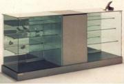 Vitrine meuble pour commerce - Dimensions 202 x 62,5 x 95H cm