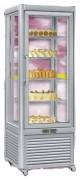 Vitrine négative pour pâtisseries - Dimensions (L x P x H) mm : 670 x 690 x 1820