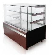 Vitrine pâtissière réfrigérée à Dégivrage automatique - Température +5/+16 C°