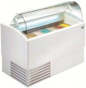 Vitrine professionnel pour glace - Température de fonctionnement -14°C/-16°C