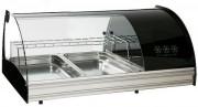 Vitrine réfrigérée à dégivrage automatique - Dimensions (mm) : 970 x 600 x 470 - 1320 x 600 x 470