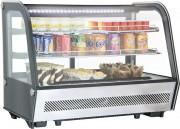 Vitrine réfrigérée à poser 160 L - Température de 2°C à 12°C