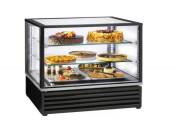 Vitrine réfrigérée boulangerie à eclairage intérieur - Dimensions (L x P x H) : 1210 x 630 x 635 mm