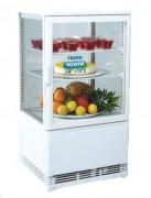 Vitrine réfrigérée de comptoir 60 Litres - Froid positif +2 +12°C - L x P x H : 428 x 366 x 810 mm