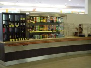 Vitrine réfrigérée de self service boisson