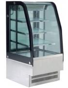 Vitrine réfrigérée fermée 430 L - +2° à +10°C - Vitre bombée - Eclairage LED