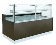 Vitrine réfrigérée froid statique - Froid statique - Surface d'exposition : de 0.60 à 1.77 m2