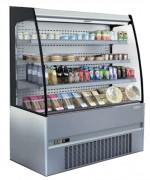 Vitrine réfrigérée libre service semi murale - Longueur : 685 à 2560 mm - Puissance : De 1050 à 2800 W  -
