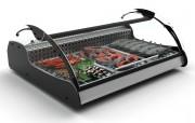 Vitrine réfrigérée mobile à 3 plateaux - Dimension (mm) : 680 x 882 x 400