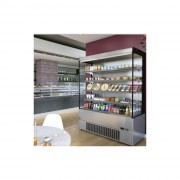 Vitrine réfrigérée murale 230v - Longueur (mm) : 685 à 2560 - Température +2° +4°C (ambiance 25°C)  - Puissance : 1200 à 3600 W