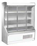 Vitrine réfrigérée murale à portes battantes - 3 Longueurs standards - Froid positif ventilé +3 +6°C