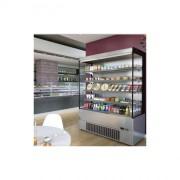 Vitrine réfrigérée murale cronus plus - Longueur (mm) : 685 à 2560 - Acier inox brossé