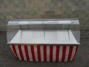 Vitrine réfrigérée pliante version Standard - Dimensions dépliée : 1.95 ml de longueur x 1.16 ml de largeur x 1.20 ml de haut