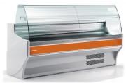 Vitrine réfrigérée pour charcuterie 1055 à 2995 mm - Profondeur (mm) : De 940 à 1200 - Longueur (mm) : De 1055 à 2995