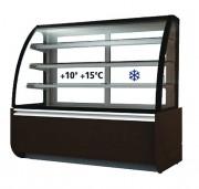Vitrine réfrigérée pour chocolats - Froid positif - + 10 + 15°C -1324 W