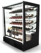 Vitrine réfrigérée pour le vin - Capacité : 9 bouteilles par étagère
